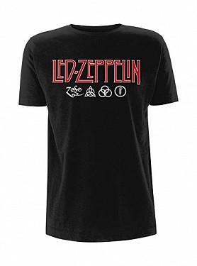 01f346483a70 Led Zeppelin - Logo   Symbols Black